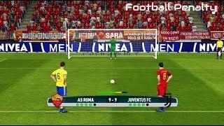 AS Roma vs Juventus | Penalty Shootout | PES 2017 Gameplay