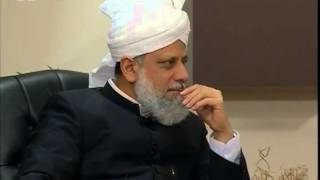 Gulshan-e-Waqfe Nau Atfal 26 April 2009, Educational class with Hadhrat Mirza Masroor Ahmad
