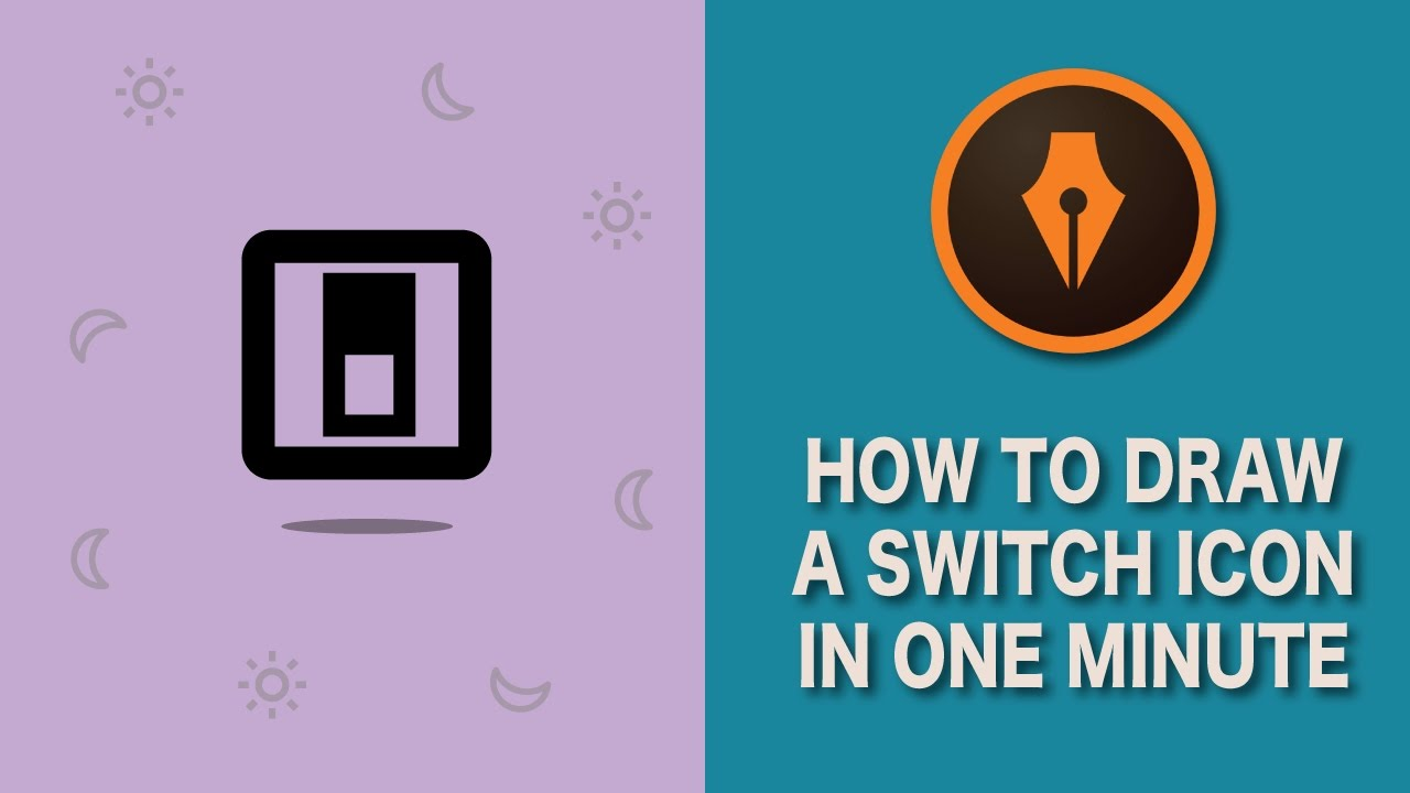 How To Draw A Switch Icon In Illustrator Illustratortutorials