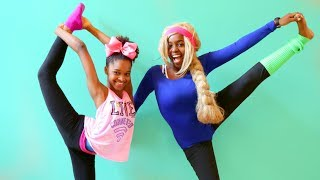 GYMNASTICS CHALLENGE! - Shiloh and Shasha - Onyx Kids