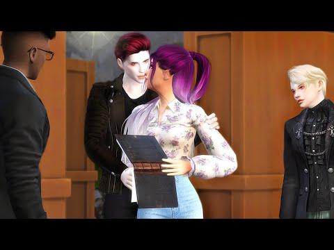 THE VAMPIRES AND I PT.2 SECRET VAMPIRE UNIVERSITY | SIMS 4 STORY |
