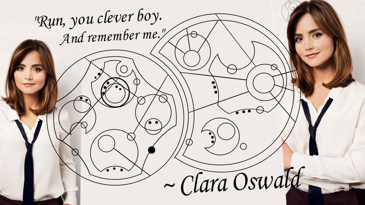 Image result for clara oswald run you clever boy and remember