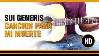 Como tocar Cancion para mi muerte de Sui generis en Guitarra acustica CLASE TUTORIAL