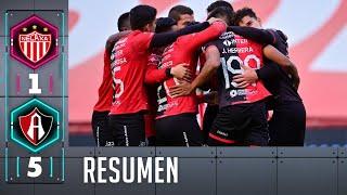 Necaxa 1-5 Atlas | Resumen | Liga BBVA MX