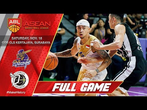CLS Knights Indonesia vs. Formosa Dreamers  | FULL GAME | 2017-2018 ASEAN Basketball League