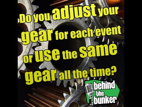 Same or different gear each event?