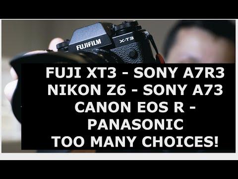Sony A7R3, Sony A73, Fuji XT3, Nikon Z6  My Thoughts To Help You Decide.