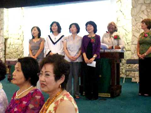 Installation Korean FUMC Chartering 8.20.09