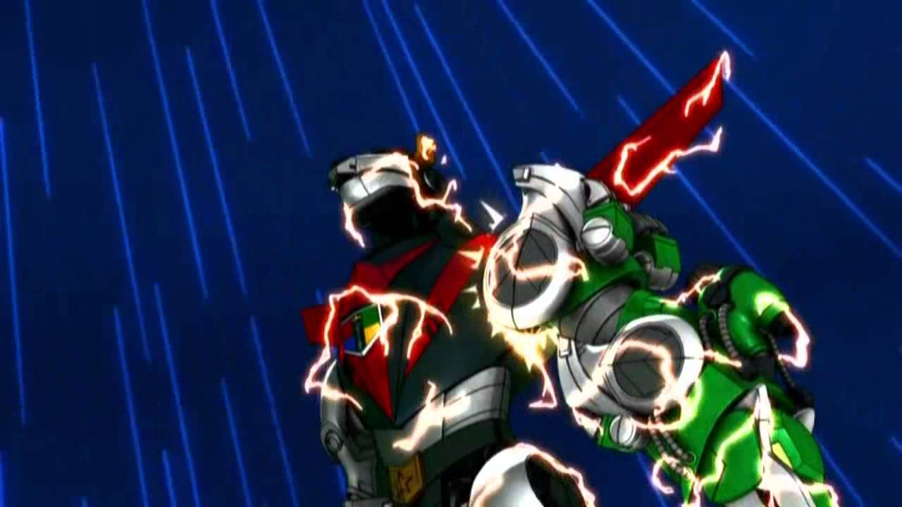 Forming Voltron and Blazing Sword - YouTube