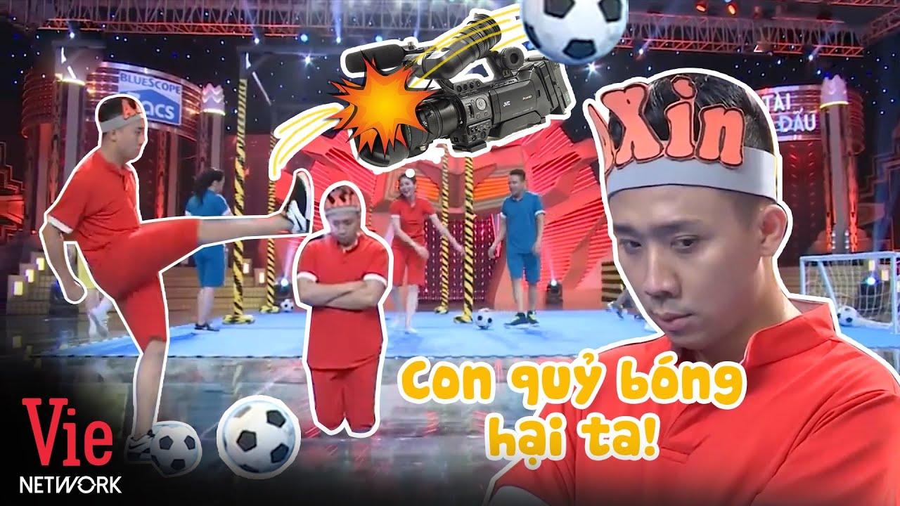 Chiêm ngưỡng cú sút bóng phá hư 4 máy quay khiến Trấn Thành quỳ gối chịu lời xỉa xói từ đồng nghiệp