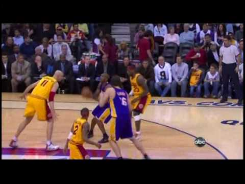 [2009.02.08] Los Angeles Lakers at Cleveland Cavaliers - Kobe versus LeBron
