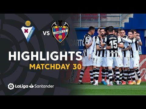 Eibar Levante Goals And Highlights