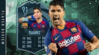 FIFA 20 POTM Suarez Review - is he worth it? | 91 La Liga POTM Luis Suarez SBC & Player Review