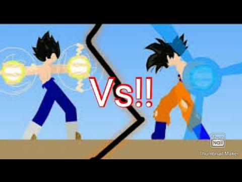 Goku Vs Vegeta! ( Z- Stickman Gameplay) Free Android Game...| Beast Gamer 69