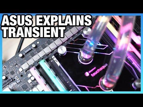 ASUS Explains Transient Response, VRM Layout Basics, & LLC For Motherboards