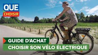 Vélo à assistance électrique - Guide d'achat