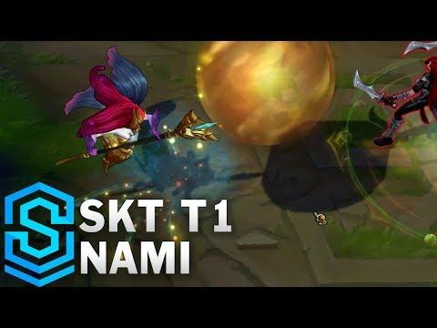 SKT T1 Nami Skin Spotlight - League of Legends
