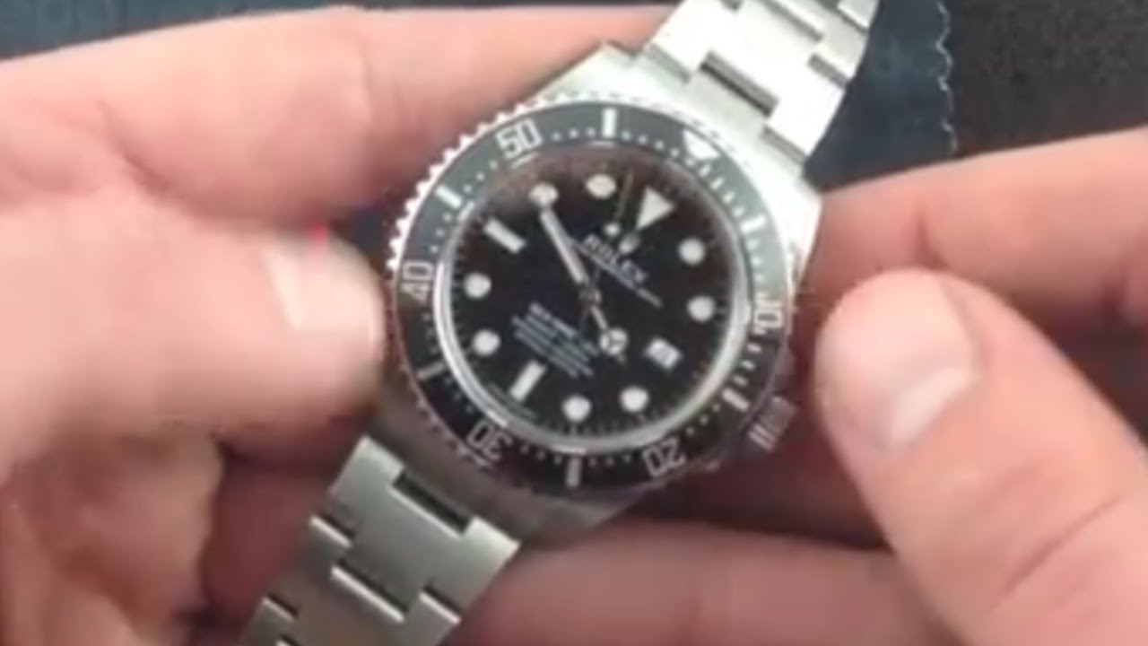 Rolex Oyster Perpetual Sea Dweller 4000 116600 Luxury