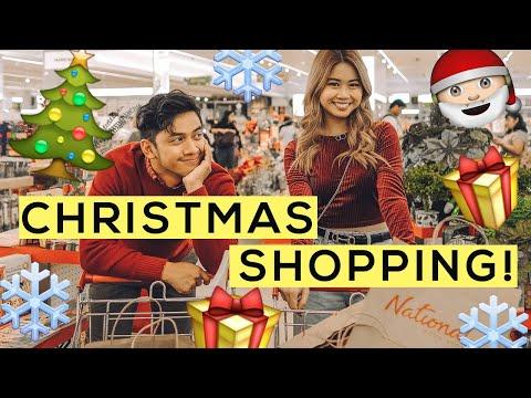 Christmas Shopping + Haul!