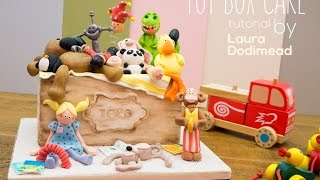How To Make A Toy Box Birthday Cake Tutorial Preview | Paul Bradford Sugarcraft School