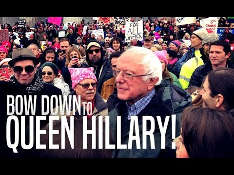 Women's March Leaders Apologize For Inviting Bernie After Clintonistas' Tantrum