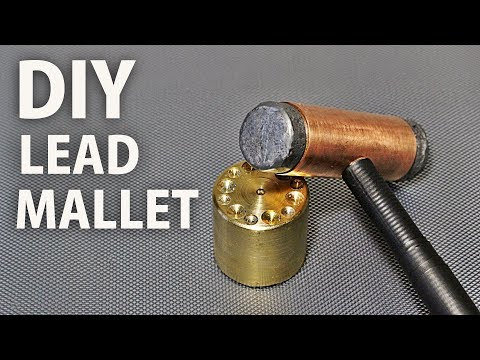 Simplest Way to Make a Lead Mallet
