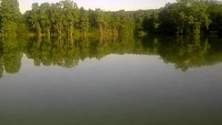 7:30 am Pittock Lake. Woodstock ontario