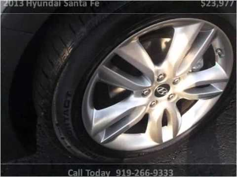2013 Hyundai Santa Fe Used Cars Raleigh Nc Youtube