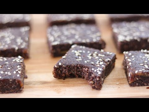 Healthy Date Bars Recipe