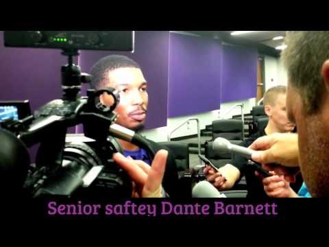 K-State Football Interview: Dante Barnett 9/6