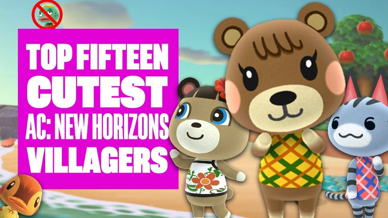 Top Fifteen Cutest Villagers In Animal Crossing New Horizons Who