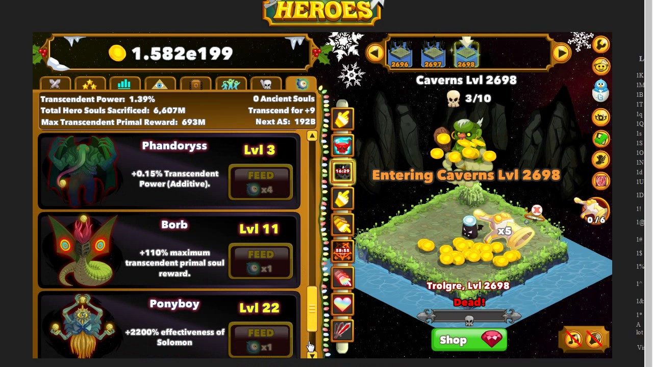 clicker heroes idle strategy