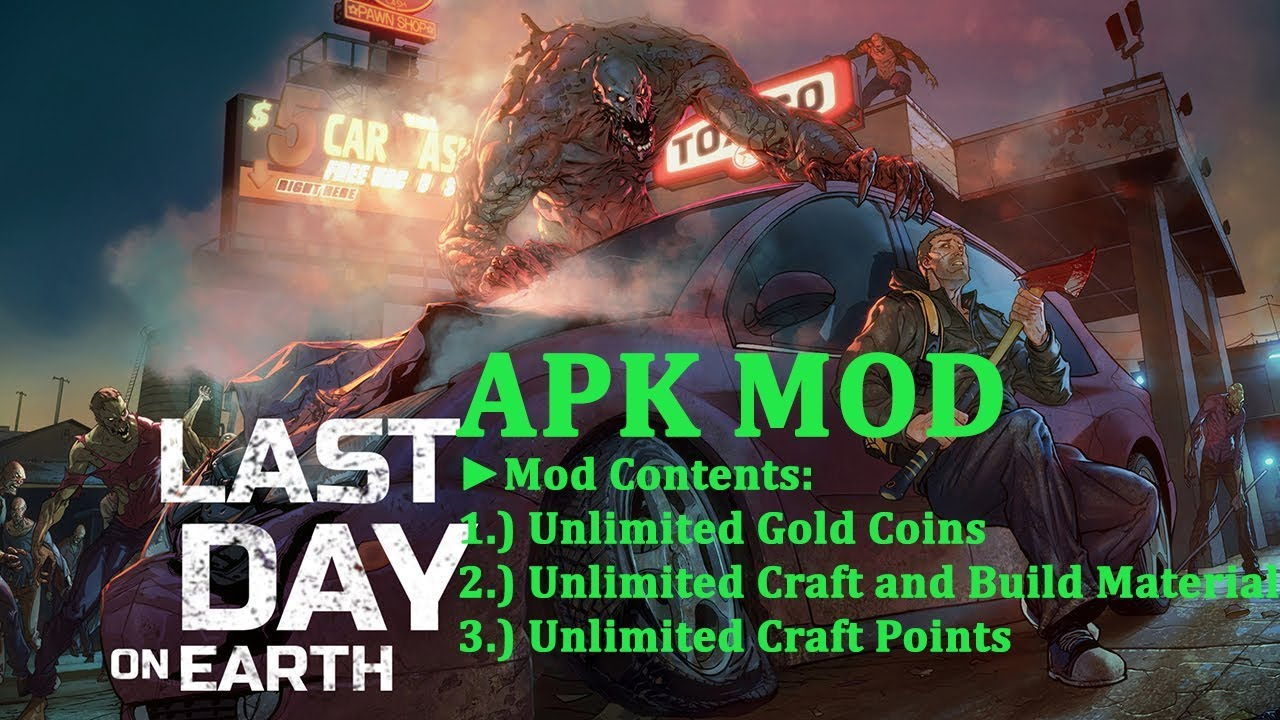 HOW TO INSTALL  LAST DAY ON EARTH SURVIVAL MOD APK – v1.5.4 | Unlimited Money & Free Craft  #Smartphone #Android