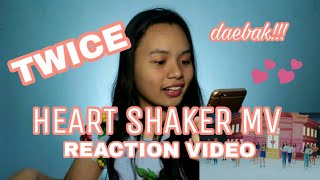 TWICE HEART SHAKER MV (트와이스) REACTION  | #3 TRENDING IN PHILIPPINES