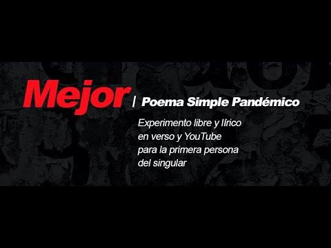 MEJOR | POEMA SIMPLE PANDÉMICO