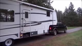 5th Wheel Travel Trailer. Heading to Louisiana. Day 1.