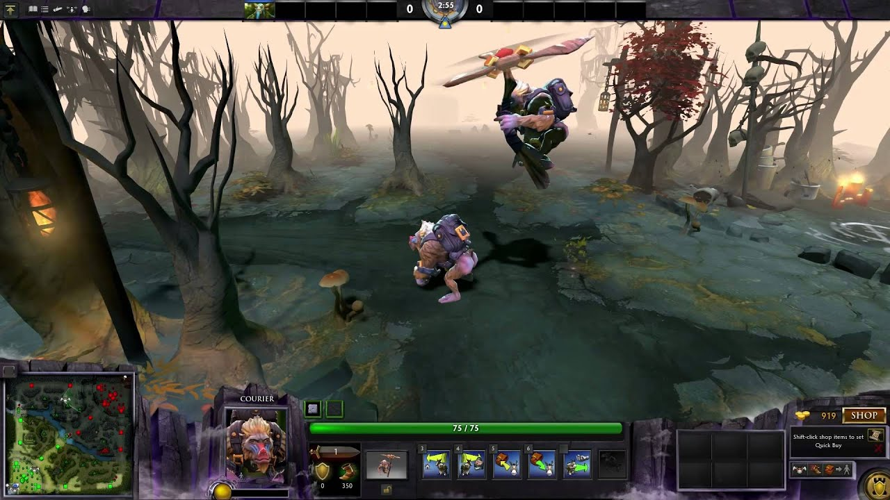 Dota 2 Unusual Mok (effect: New Bloom Celebration; Colour: Unhallowed  Ground)