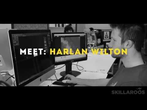Meet: Harlan Wilton, 2015 Skillaroo - Web Design