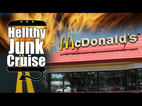 Trip to McDonalds with Jason Bermas - Hellthy Junk Cruise - Episode 1