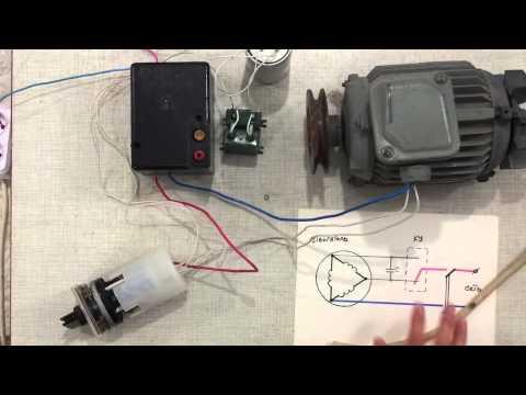Динамическое торможение асинхронного двигателя - Help for