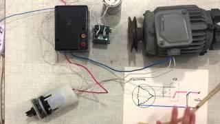 подключение асинхронного двигателя на 220В с реверсом через переключатель