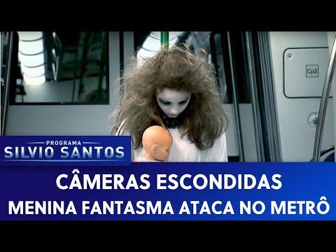 Menina Fantasma Ataca no Metrô (Scary Ghost Subway Prank) - [Pegadinha - Câmera Escondida] video