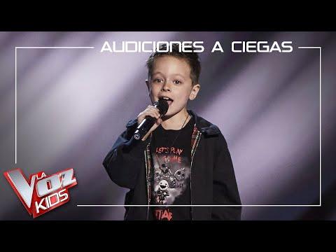Jesús del Río canta 'Highway to Hell' y la lía en las Audiciones de La Voz Kids