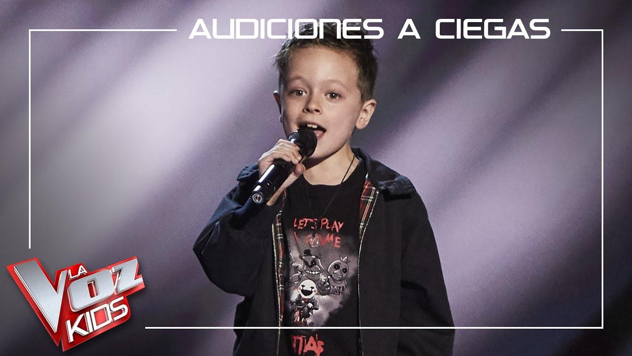 Download Jesús del Río canta 'Highway to Hell'   Audiciones a ciegas   La Voz Kids Antena 3 2021