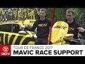Inside The Mavic Neutral Service Car & Scooter At The Tour De France | Tour de France 2017