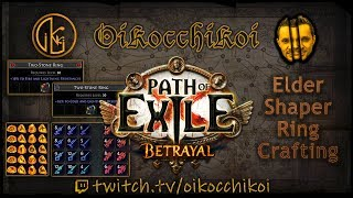 Elder Ring Crafting Warlord 39 s Mark on Hit Path of Exile Betrayal