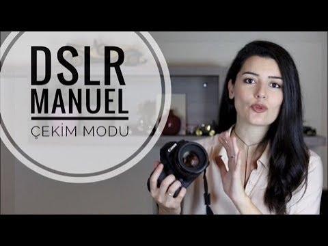 DSLR'de Manuel Çekim Modu Nedir, Nasıl Kullanılır? / Temel Fotoğrafçılık Bilgileri | Başak Tuncer
