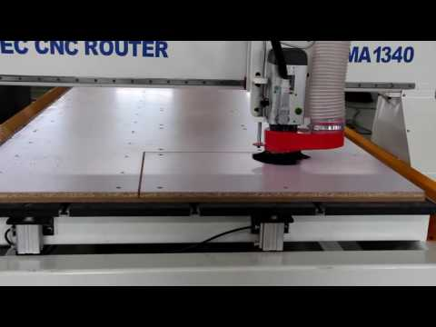 Mastec CNC Router,CNC Wood Cutting Machine working together with CV software