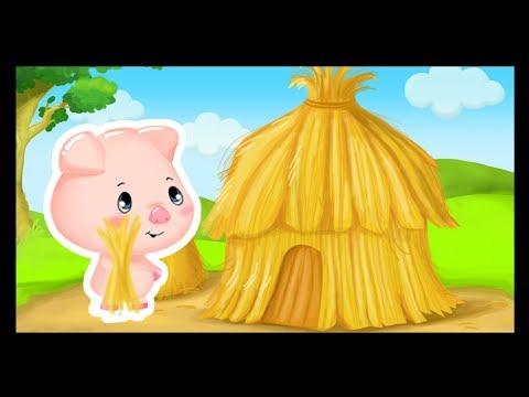 Trois petits cochons - Comptines et histoires video download
