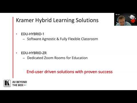 Hybrid Education Solutions - Education for Everyone, Everywhere l AVIXA Webinars